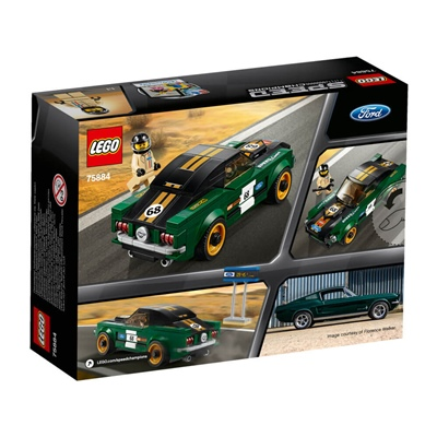 LEGO Speed Champions 1968 Ford Mustang Fastback, 75884
