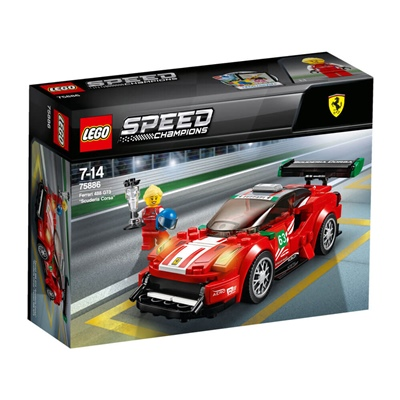 LEGO Speed Champions Ferrari 488 GT3 Scuderia Corsa, 75886
