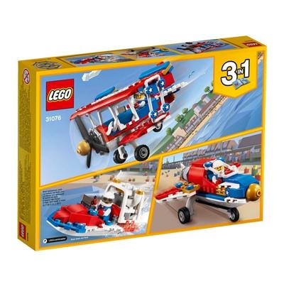 LEGO Creator Våghalsigt Stuntplan, 31076