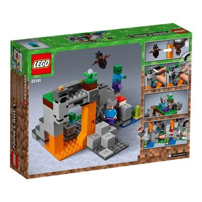 LEGO Minecraft Zombiegrottan, 21141