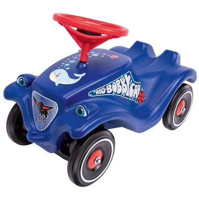 BIG Bobby Car Classic Ocean Blå + Polis, 56109