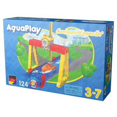 AquaPlay Containerkran Set, 124