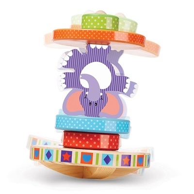 Melissa & Doug Elephant Rocking Stacker, 40127