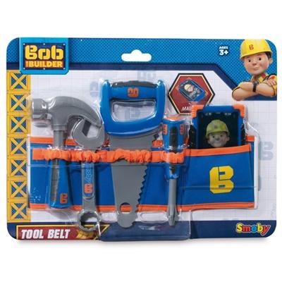 Smoby Bob The Builder Verktygsbälte med Verktyg, 7600360129