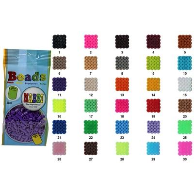 Nabbi Pärlor Refillpåse 1100 st, NBRP-1100