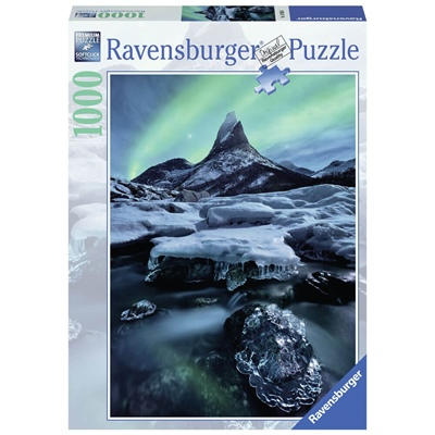 Ravensburger Pussel 1000 Bitar Stetind in North-Norway, 198306