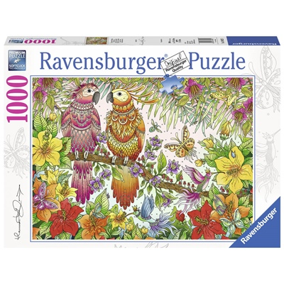 Ravensburger Pussel 1000 Bitar Tropical Feeling by Hanna K, 198221