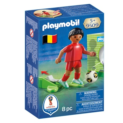Playmobil Landslagsspelare för Belgien, 9509P