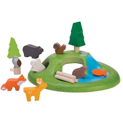 PlanToys Animal Set, 6625PT