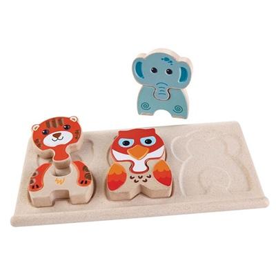 PlanToys Animal Puzzle, 5611PT