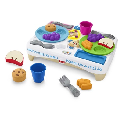 Fisher Price Laugh & Learn Say Please Snack Set, FCB78