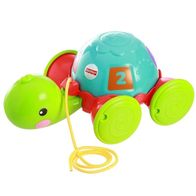 Fisher Price Pull-Along Turtle, Y8652