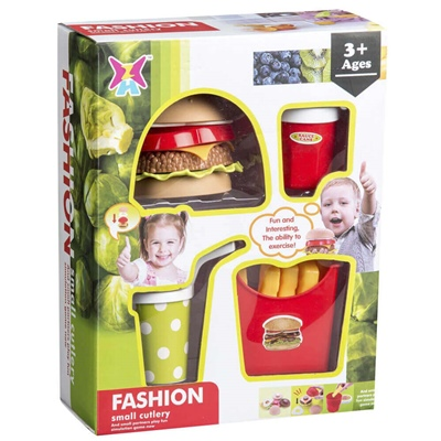 Fashion Small Cutlery Hamburgareset, 62257