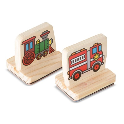 Melissa & Doug My First Stamp Set Vehicles, 12391