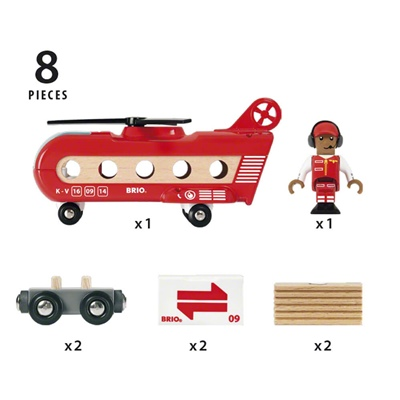 BRIO Transporthelikopter, 33886