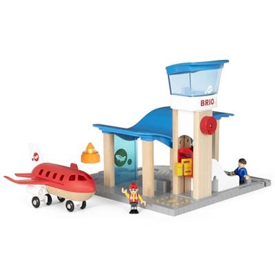 BRIO Flygplats med Flygplan, 33883