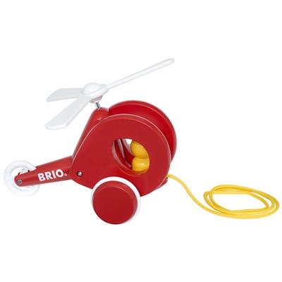 BRIO Dragleksak Helikopter Röd, 30227