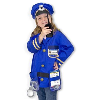 Melissa & Doug Maskeradkläder Polis, 14835