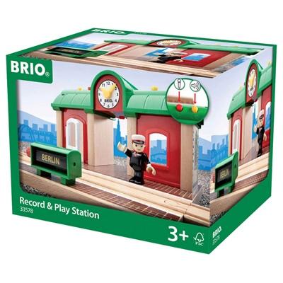 BRIO Station med Ljud och Ljus, 33578