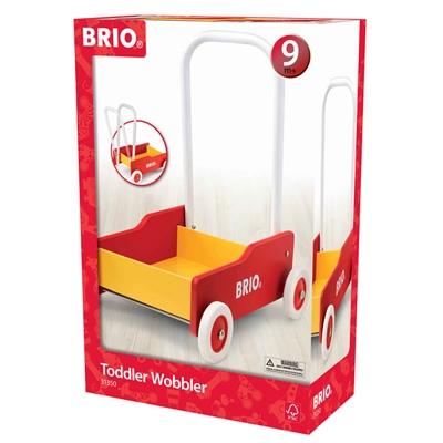 BRIO Lära-Gå-Vagn Röd, 31350-000