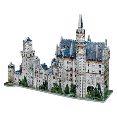 Wrebbit 3D Pussel 890 Bitar Château de Neuschwanstein, 02005