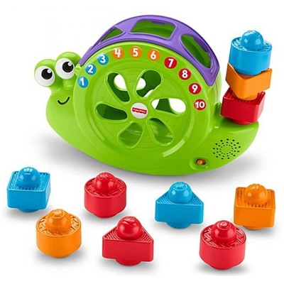 Fisher Price Rock´n Roll Sort Snail Pail, FRB84