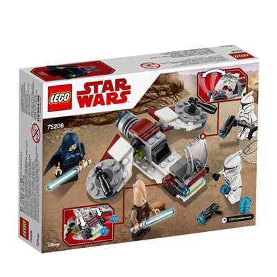 LEGO Star Wars Jedi and Clone Troopers Battle Pack, 75206