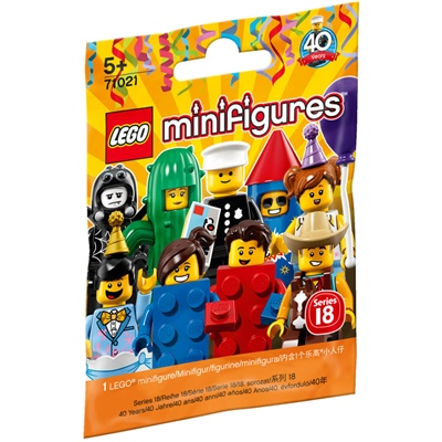 LEGO Minifigur 1 st Serie 18, 71021