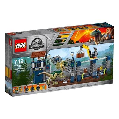 LEGO Jurassic World Dilophosaurus Stationsattack, 75931