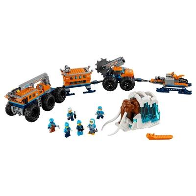 LEGO City Arktisk Mobil Utforskningsbas, 60195