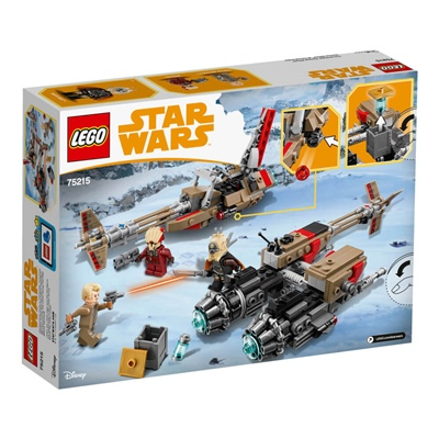 LEGO Star Wars Cloud-Rider Swoop Bikes, 75215