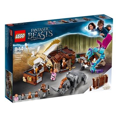 LEGO Harry Potter Newts Väska med Magiska Varelser, 75952