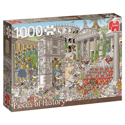 Jumbo Pieces of History Pussel 1000 Bitar Romarna, 19203