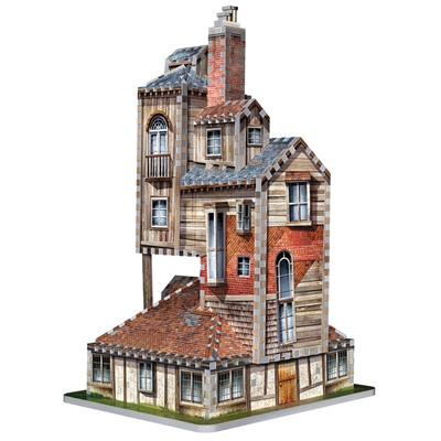 Wrebbit 3D Pussel 415 Bitar Harry Potter The Burrow Weasley, 01011W