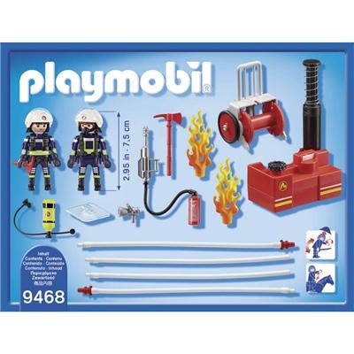 Playmobil Brandmän med Vattenpump, 9468P