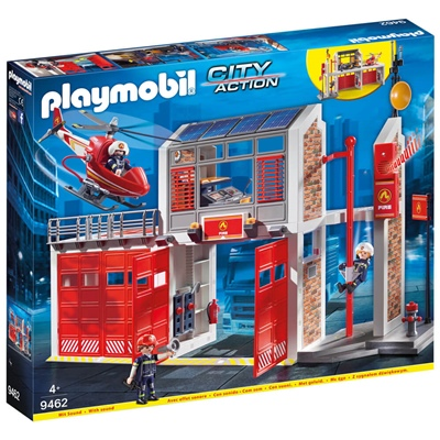 Playmobil Stor Brandstation, 9462P