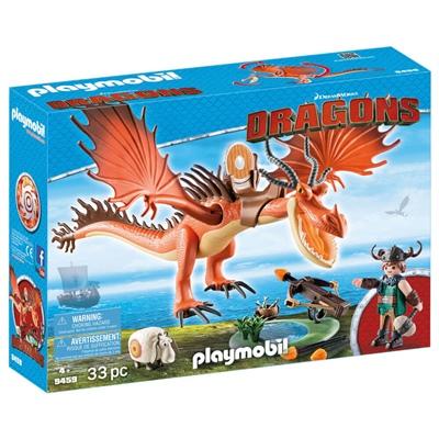 Playmobil DRAGONS Snorslödder och Kroktand, 9459