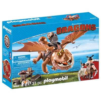 Playmobil DRAGONS Fiskfot och Tjockvald, 9460