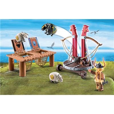 Playmobil DRAGONS Gape Rapkäft med Fårsele, 9461P