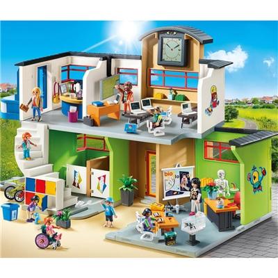 Playmobil Inredd Skolbyggnad, 9453