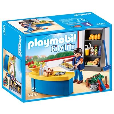 Playmobil Vaktmästare med Bås, 9457