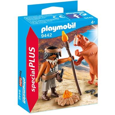 Playmobil Grottman med Sabeltandad Tiger, 9442P