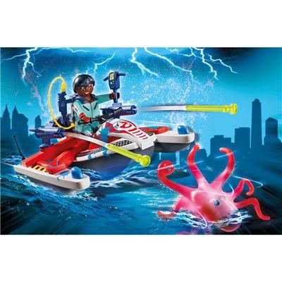 Playmobil Ghostbusters™ Zeddemore med Vattenskoter, 9387