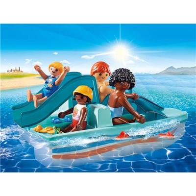 Playmobil Trampbåt med Rutschkana, 9424
