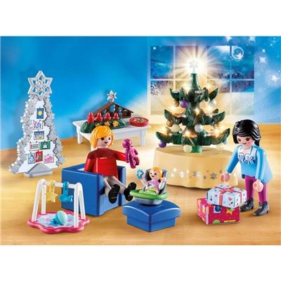 Playmobil Vardagsrum Jul, 9495