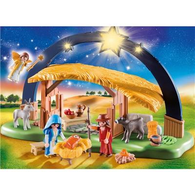 Playmobil Ljusbåge Jesu Födelse, 9494