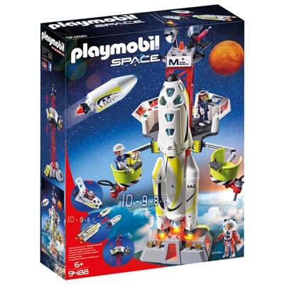 Playmobil Marsraket med Avfyrningsplats, 9488P