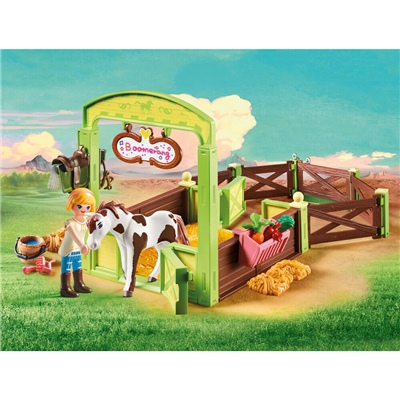 Playmobil Hästbox Abigail och Boomerang, 9480P