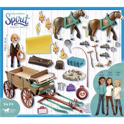 Playmobil Luckys Pappa och Vagn, 9477