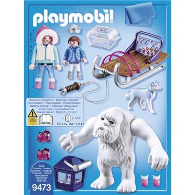 Playmobil Snötroll med Släde, 9473P